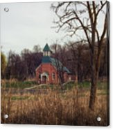 Spaulding Church Acrylic Print