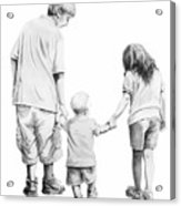Special Children Acrylic Print