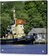 Special Seaport Visitor Acrylic Print