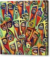 Spectators. The Defeat Acrylic Print
