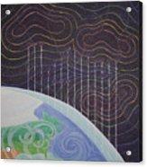 Spectrum Earth Spacescape Acrylic Print