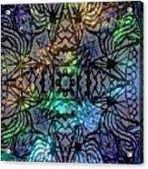 Spectrum Grid Acrylic Print