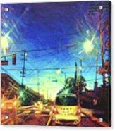 Speed of Light Acrylic Print