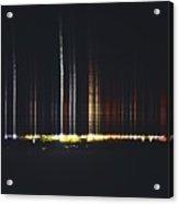 Speed Of Light Acrylic Print by Stephanie  Varner