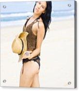Spellbound Beach Beauty Acrylic Print