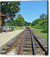 Spencer Railroad Station 2 Acrylic Print