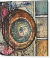 Spheres Abstract Acrylic Print