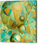 Spheres Of Life's Changes Acrylic Print