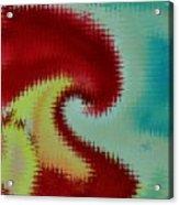Spherical Colours Acrylic Print