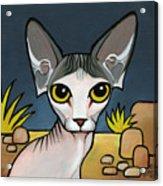 Sphinx Cat Acrylic Print