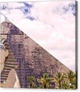 Sphinx Clouds Acrylic Print