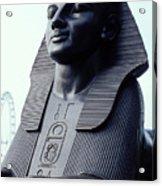 Sphinx In London Acrylic Print