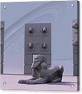 Sphinx Acrylic Print