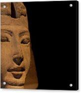 Sphinx On Black Acrylic Print