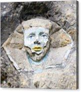 Sphinx - Rock Sculpture Acrylic Print