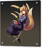 Spice And Wolf Acrylic Print