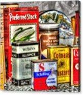 Spices 764 Acrylic Print
