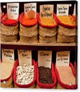 Spices  Acrylic Print by Harry Spitz