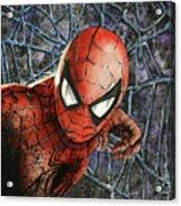 Spiderman Acrylic Print