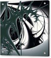 Spiky Bugs Acrylic Print