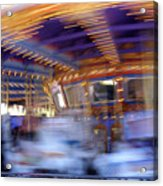 Spin Fast Acrylic Print