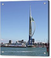 Spinnaker Tower Portsmouth England Acrylic Print
