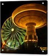 Spinning Fair Fun Acrylic Print