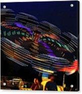 Spinning Lights Acrylic Print