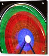 Spinning Wheels Acrylic Print