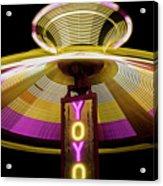 Spinning Yoyo Ride Acrylic Print