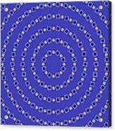 Spiral Circles Acrylic Print by Michael Tompsett