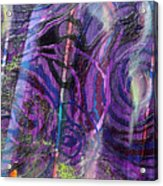 Spiral Detail From Annunciation Acrylic Print