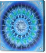 Spiral Gallaxies Acrylic Print