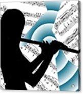 Spiral Music Acrylic Print