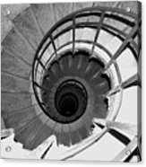 Spiral Staircase At The Arc Acrylic Print