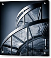 Spiral Staircase Acrylic Print by Dave Bowman