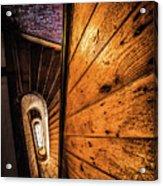 Spiral Stairwell Acrylic Print