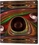 Spiral Warp Acrylic Print