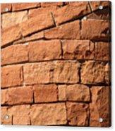 Spiraling Bricks Acrylic Print