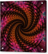 Spiraling Into The Abyss Acrylic Print