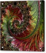 Spiralling Fractal One Acrylic Print