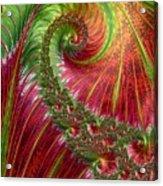 Spiralling Fractal Three Acrylic Print