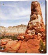Spire Rocks At Kodachrome Basin State Park Acrylic Print