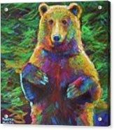 Spirit Bear Acrylic Print