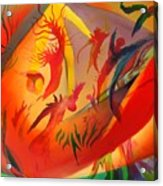 Spirit Dance in the Cave Acrylic Print