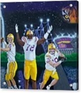 Spirit Of Baton Rouge Acrylic Print by Hershel Kysar