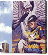 Spirit Of Healing Mural San Antonio Texas Acrylic Print