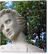 The Spirit Of Nursing Statue Up Close Acrylic Print