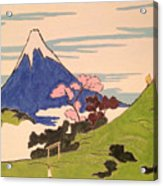 Spirit Of Ukiyo-e In The Light Of Shinto Acrylic Print