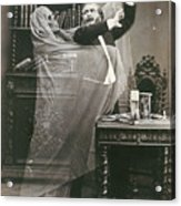 Spirit Photograph, 1863 Acrylic Print